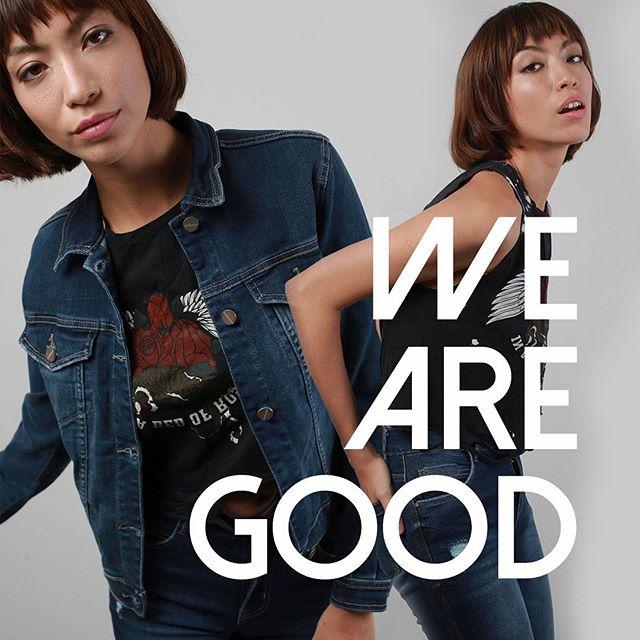 campera jeans mujer invierno 2020 Union Good