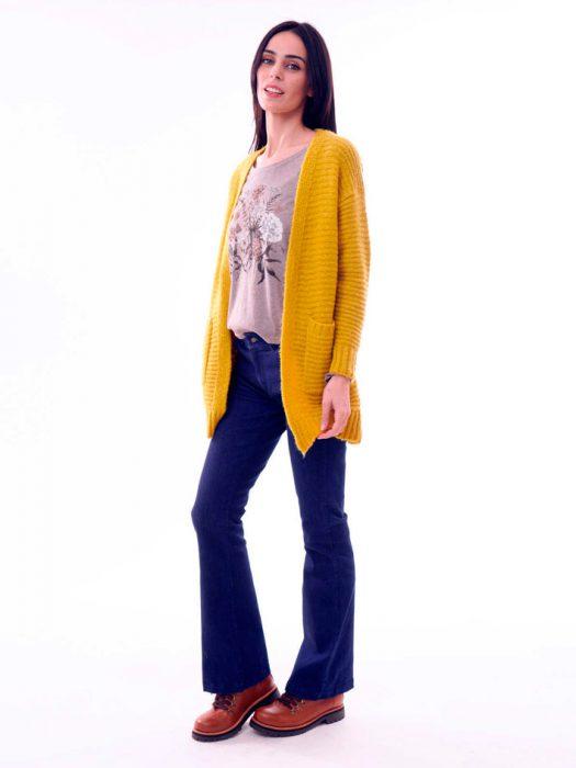 cardigan de lana mujer sail otoño invierno 2020