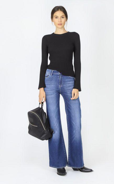 look basico con jeans para ir al trabajo invierno 2020 Paula Cahen D Anvers