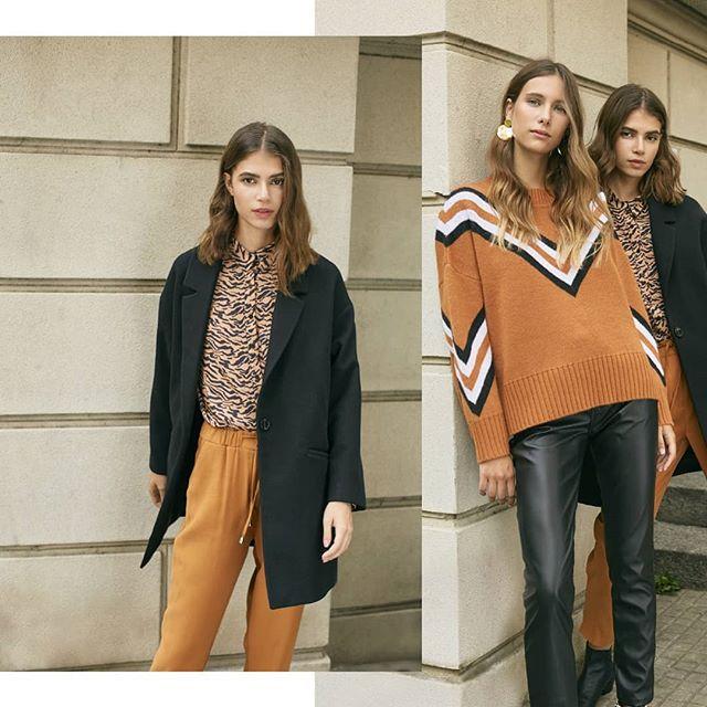 look con babucha y pantalones engomados silenzio otoño invierno 2020