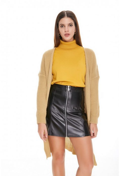 minifalda con polera invierno 2020 Sweet