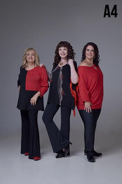 moda para señoras en talles grandes Loren otoño invierno 2020