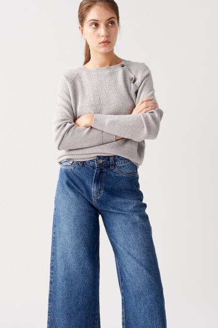 oxford con sweater nare otoño invierno 2020
