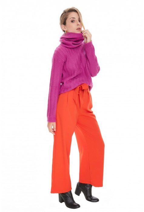 pantalon de vestir con polera tejida invierno 2020 Sweet