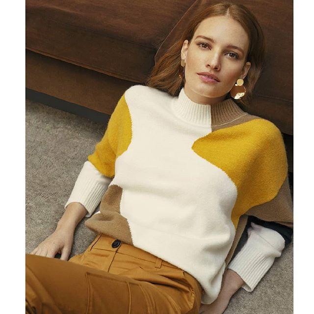sweater abrigado mujer silenzio otoño invierno 2020