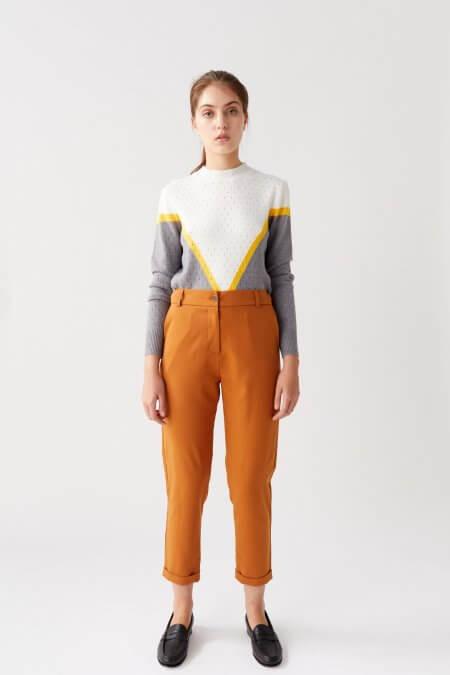 sweater con figuras geometricas nare otoño invierno 2020