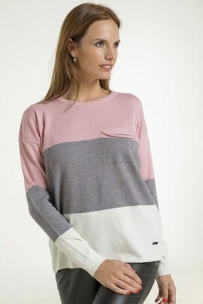 sweater con franjas Nuss Tejidos otoño invierno 2020