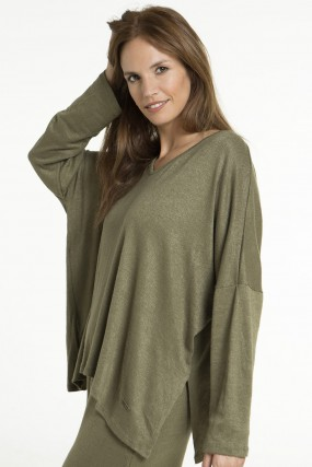 sweater holgado Nuss Tejidos otoño invierno 2020