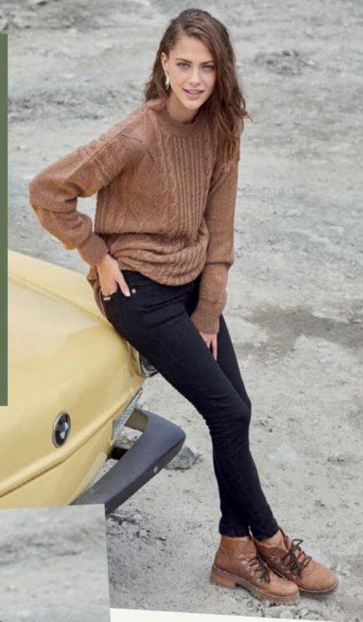 sweater lana tejidos mujer wineem otoño invierno 2020