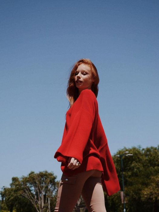 sweater mangas oxford Summa otoño invierno 2020