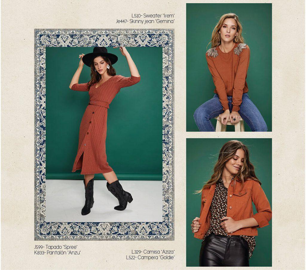 vestido urbano mujer rimmel otoño invierno 2020