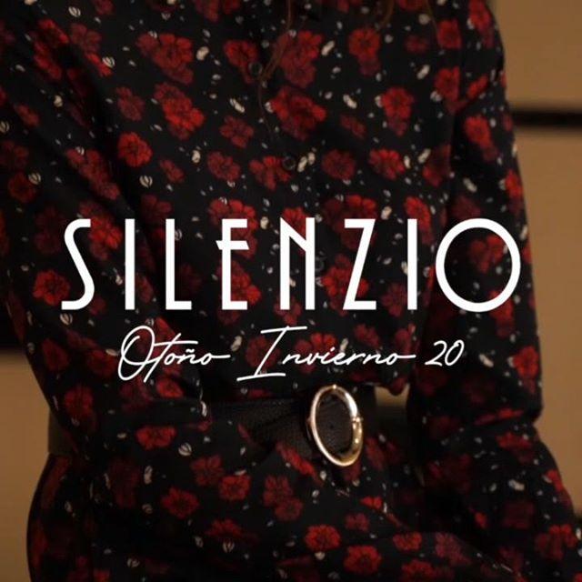 vestidos mangas largas estampados silenzio otoño invierno 2020