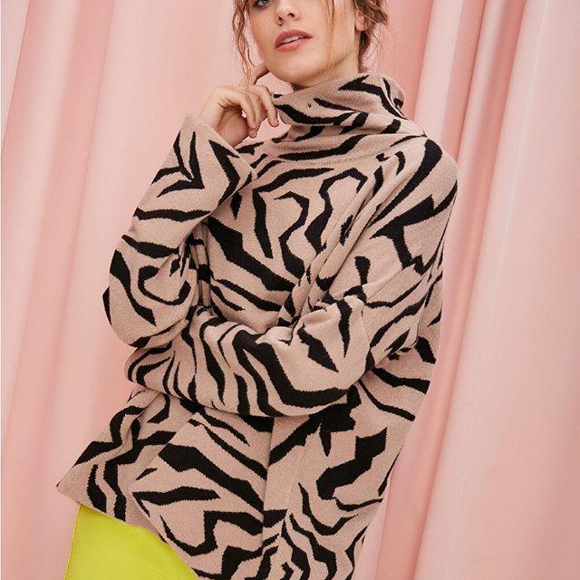 Sweater polera MillieTejidos de moda invierno 2020