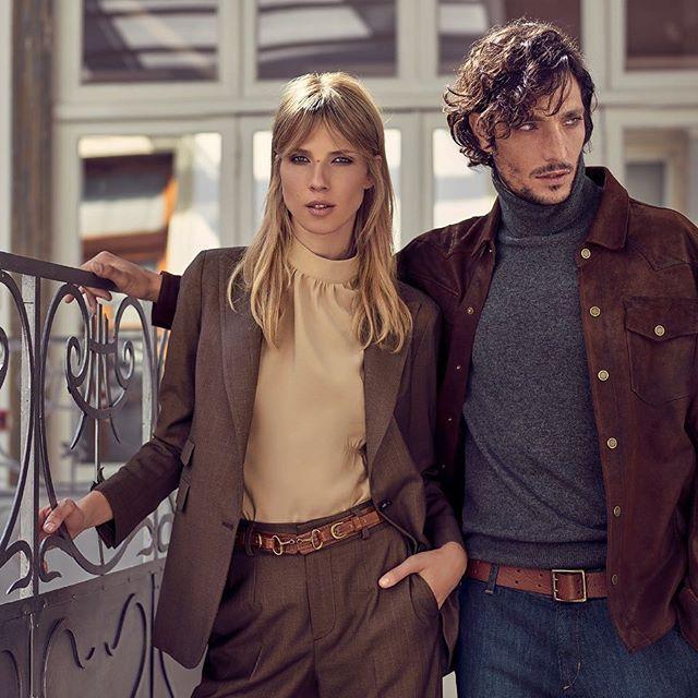 blusa cuello polera con traje mujer cardon invierno 2020