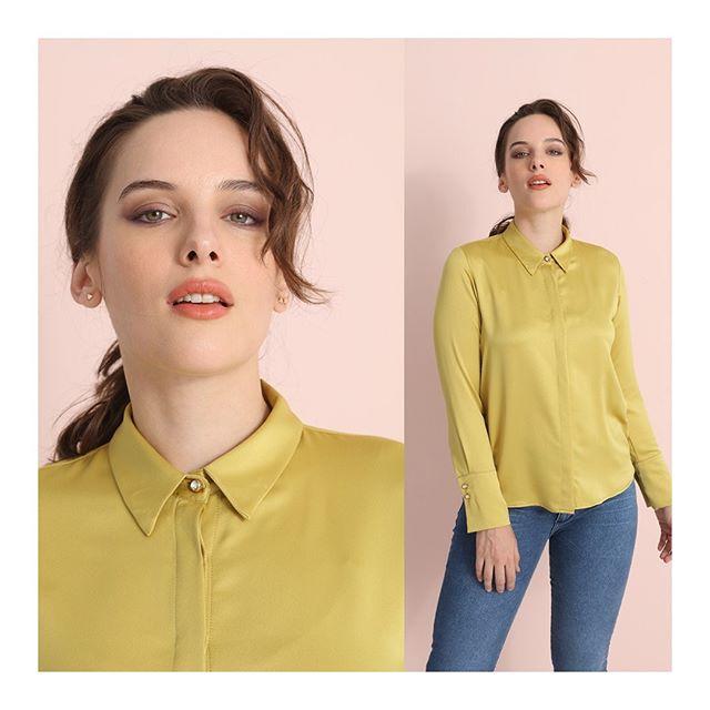 camisa de seda juvenil invierno 2020 Ted Bodin