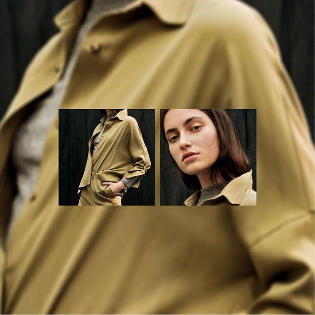 camisa gabardina inversa invierno 2020