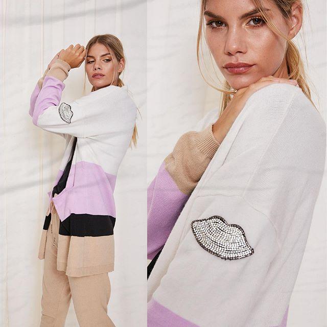 cardigan largo MillieTejidos de moda invierno 2020
