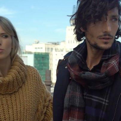 poncho lana mujer mujer cardon invierno 2020