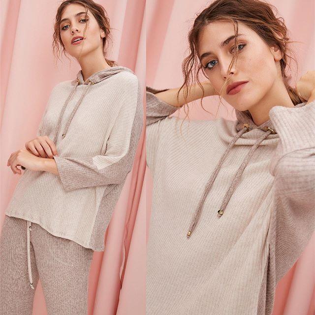 sweaer con capucha MillieTejidos de moda invierno 2020