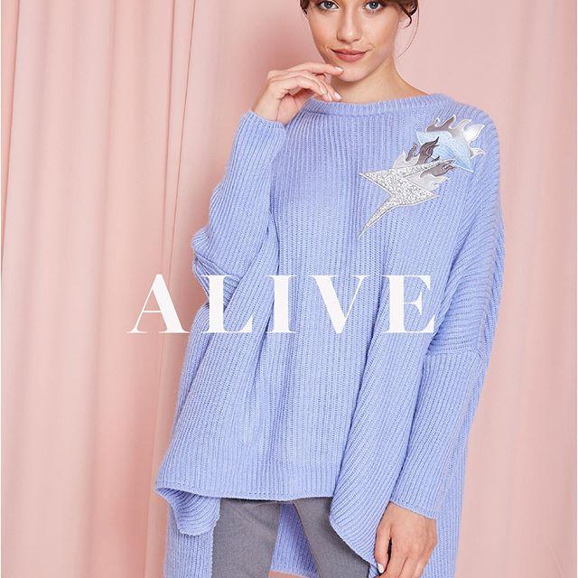 sweater amplio tejido en lana MillieTejidos de moda invierno 2020