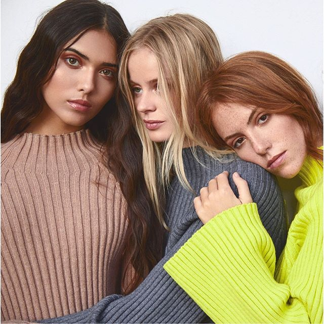 sweater lana juvenil mangas abiertas MillieTejidos de moda invierno 2020