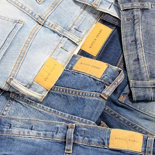tonos de jeans Riffle otoño invierno 2020