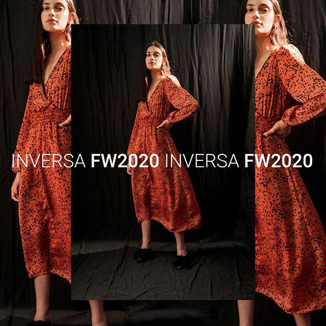 vestido mangas largas para el dia inversa invierno 2020