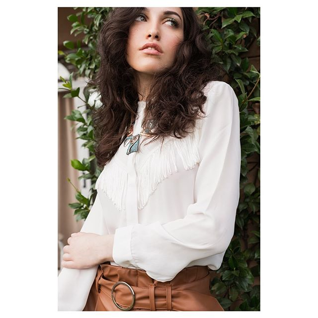 camisa blanca mujer EVA MILLER
