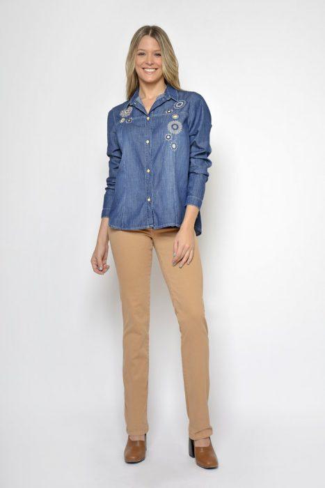 camisa denim Moravia Jeans invierno 2020