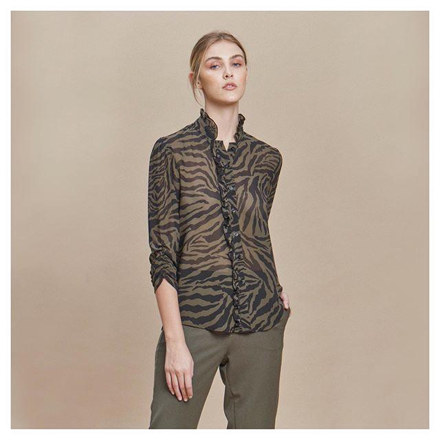 camisas estampadas mujer awada invierno 2020