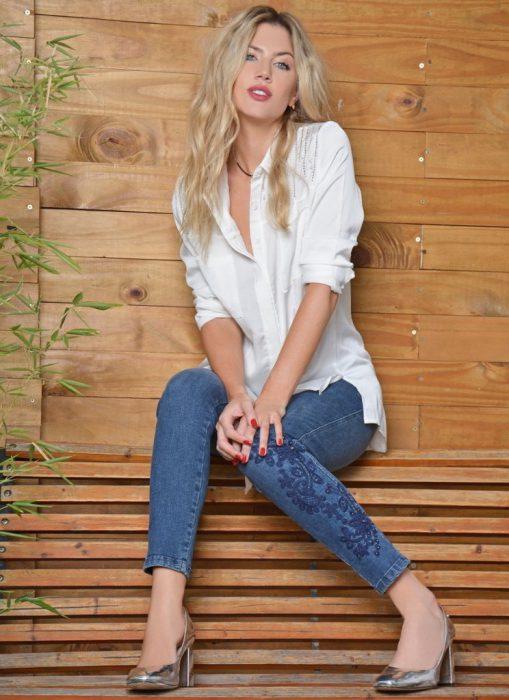 jeans bordado Moravia Jeans invierno 2020