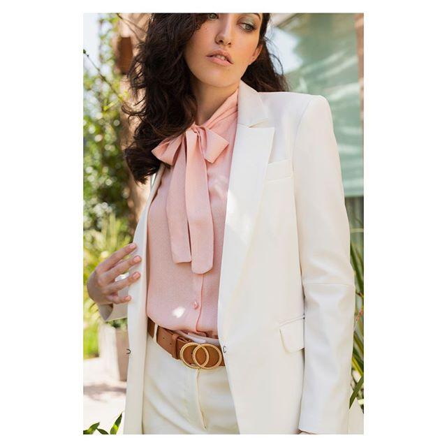 traje mujer blanco EVA MILLER