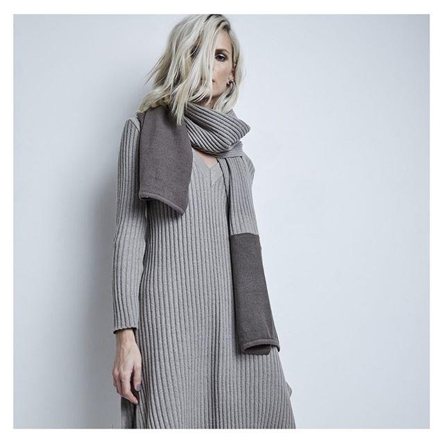 vestido mangas largas invierno Agostina Bianchi tejidos MUJER invierno 2020
