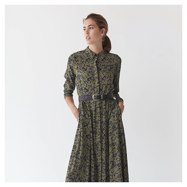 vestido urbano mujer mangas largas awada invierno 2020