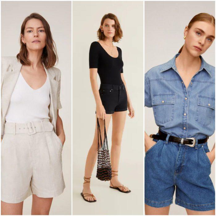 Shorts De Moda Colecciones Y Catalogos Invierno 2021 Ropa Mujer