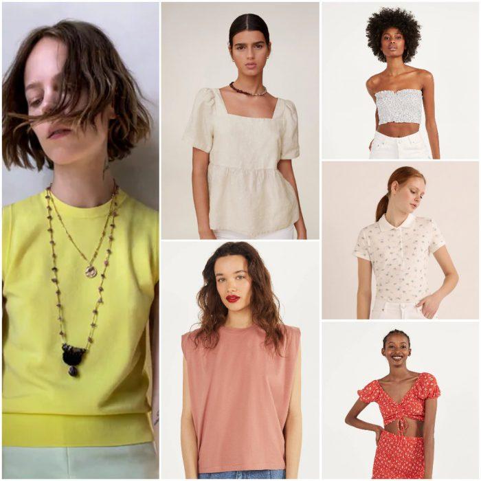 blusas de moda verano 2021 Argentina tendencias
