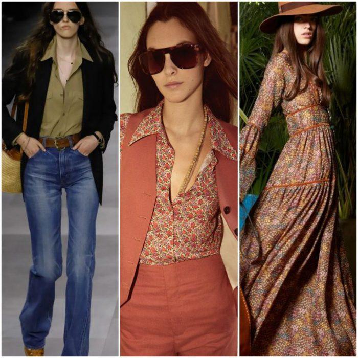 estilos años 70 estilos de moda verano 2021 Argentina