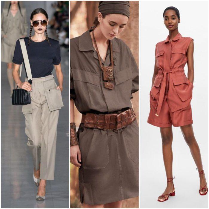 estilos safari estilos de moda verano 2021 Argentina