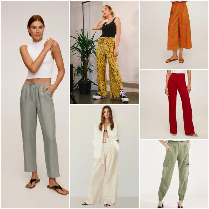 Pantalones De Mujer De Moda Primavera Verano 2021 Argentina 1 Notilook Moda Argentina