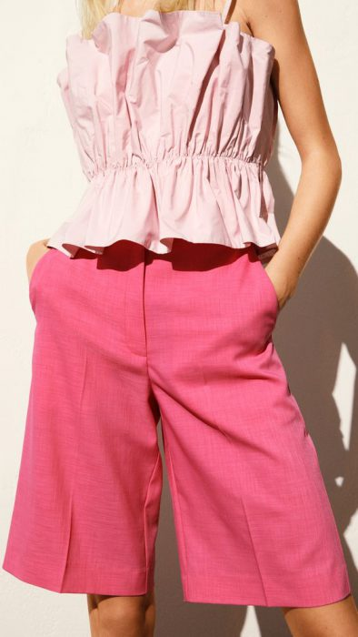 rosa lila y fucsia combinacion colores de moda verano 2021