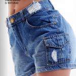 Short de jeans primavera verano 2021 - Diosa Luna