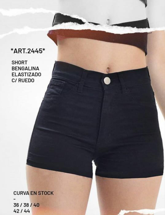 Short jeans negro verano 2021 Diosa Luna