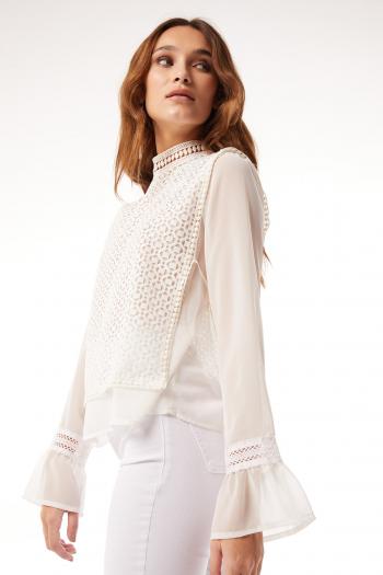 blusa blanca Ossira verano 2021