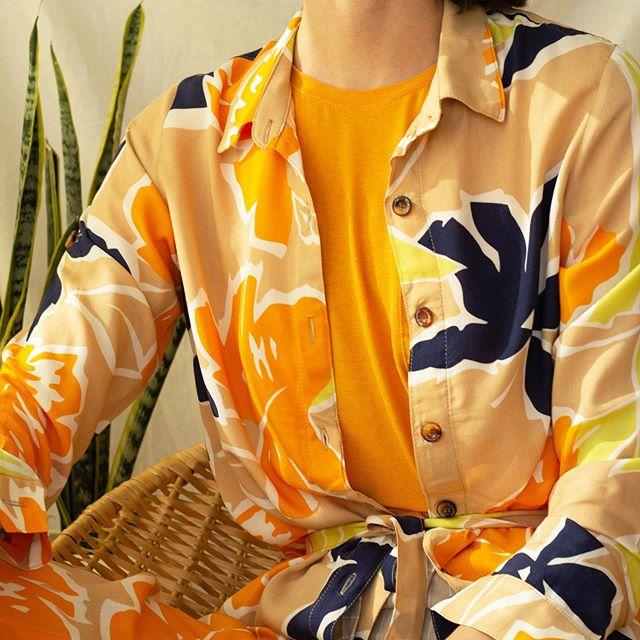 camisa estampada Sans Doute verano 2021