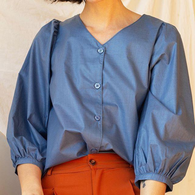 camisa mangas abullonadas Sans Doute verano 2021