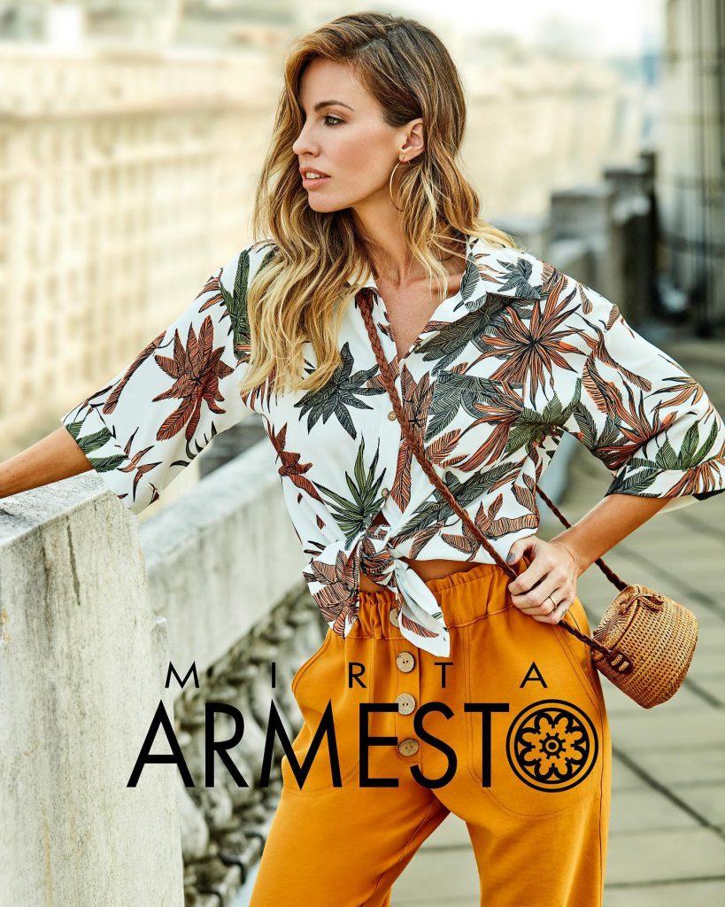 camisas estampada mujer primavera verano 2021 Mirta Armesto