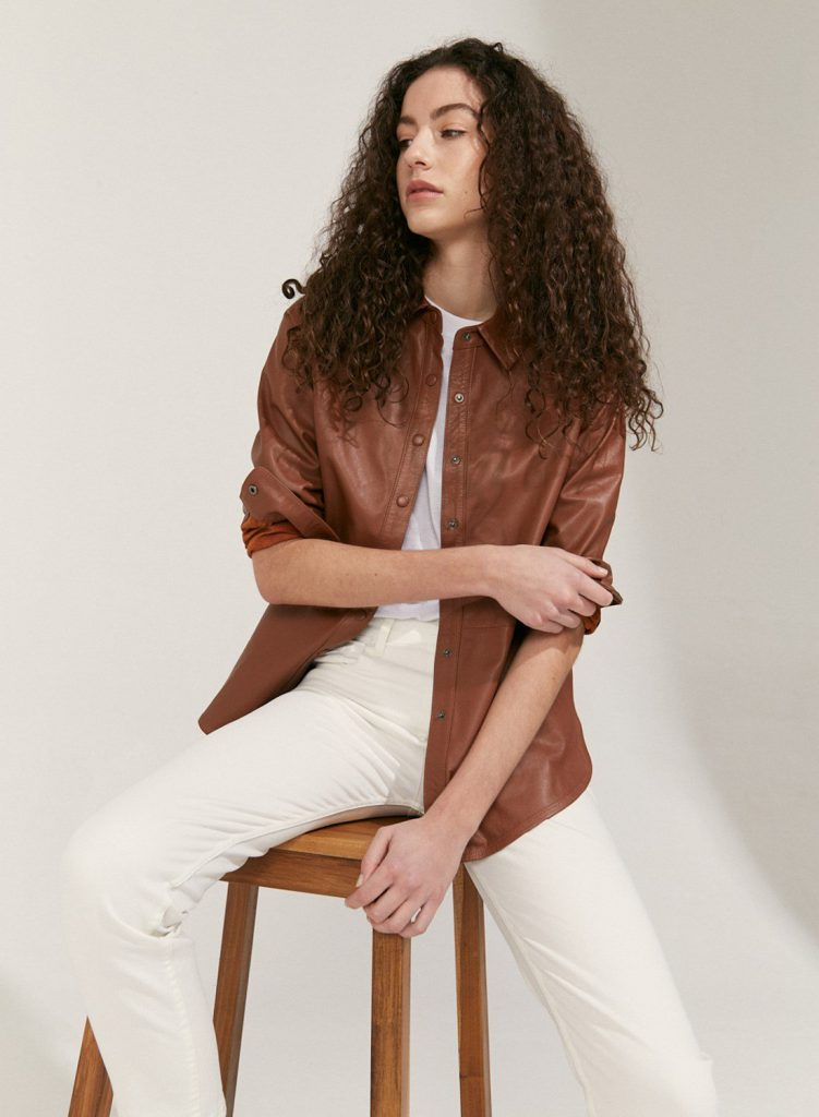 chaqueta de cuero verano 2021 Etiqueta Negra