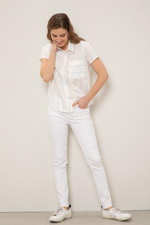 jeans blanco mujer yagmour verano 2021