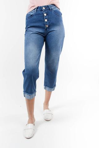 jeans capri de moda af jeans verano 2021