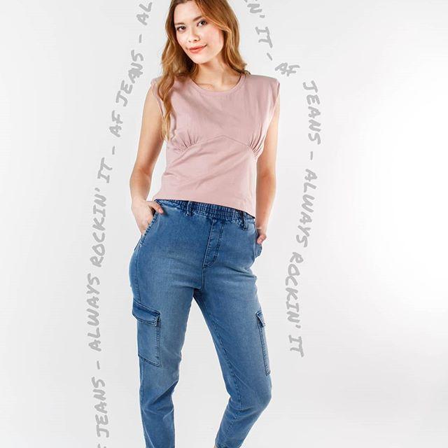 jeans cargo af jeans verano 2021